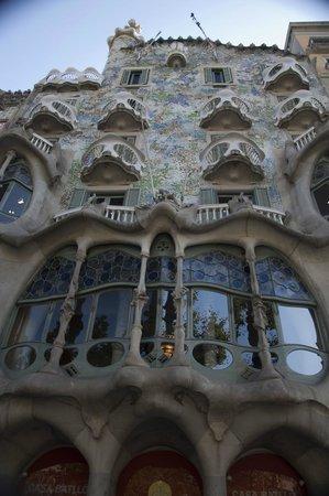 Paseo de Gracia (Passeig de Gracia): Casa Batlló