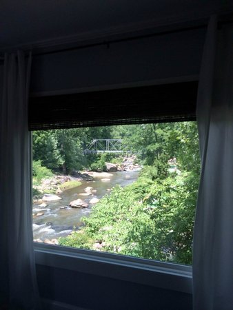 River House at Chimney Rock: View from our room <3