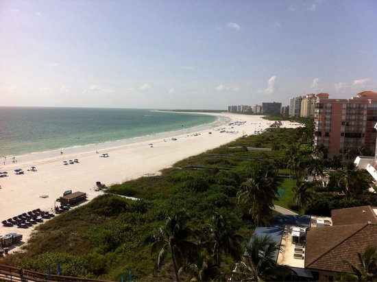 Hilton Marco Island Beach Resort--CLOSED FOR RENOVATIONS; REOPENING DEC. 1, 2017: View from the 10th floor!!