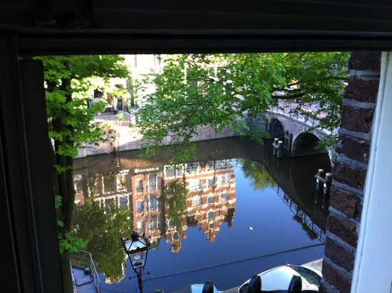 Prinsengracht: view from canal house