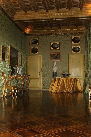 Residenza Ruspoli Bonaparte: The Green Room