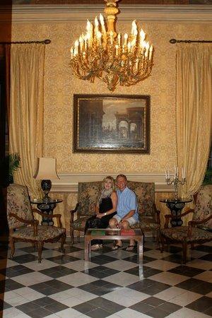 Residenza Ruspoli Bonaparte: Reception room