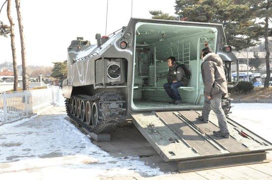 Monumento de Guerra de Corea: Armor tank