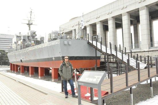 Monumento de Guerra de Corea: Warship