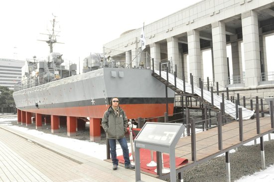 The War Memorial of Korea : Warship