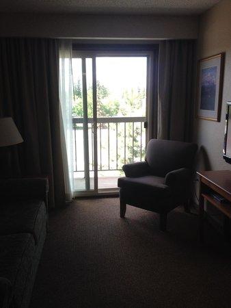 Sophie Station Suites: living area
