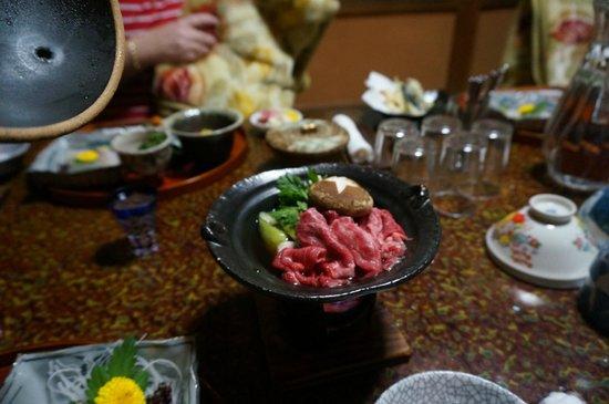 Sumiyoshi Ryokan: Fantastic Hida beef steak dinner option