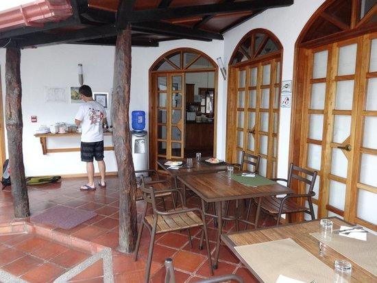 Hotel Galapagos Suites: desayuno