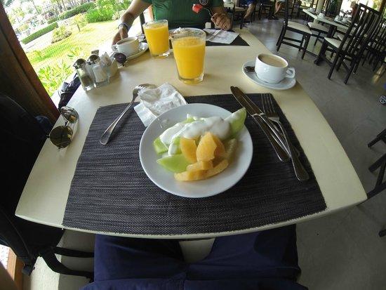 Sandos Playacar Beach Resort : Desayunos deliciosos
