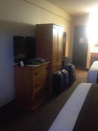 Denali Park Village: tiny room