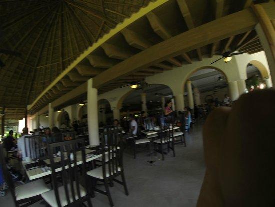 Sandos Playacar Beach Resort : Restaurant de desayunos