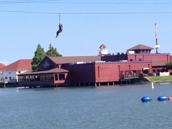 Liberty Brewery & Grill: Liberty from the water