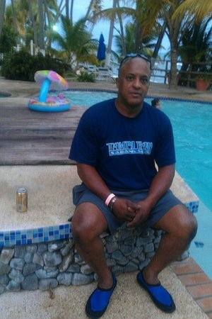 Caribe Playa Beach Hotel : Mi esposo