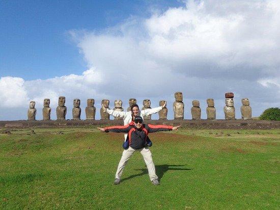 Ahu Tongariki: Un lugar muy hermoso que se recomienda visitar
