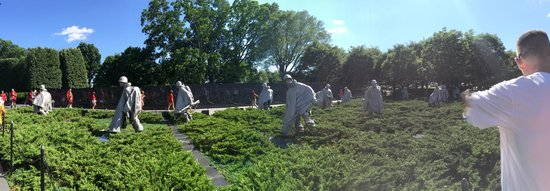 Monumento a los veteranos de la Guerra de Korea: Garden of Statues