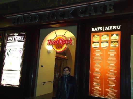 Hard Rock Cafe: Frente