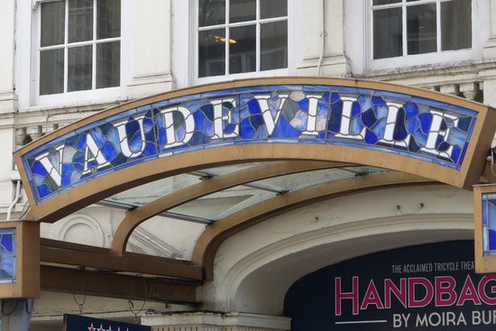 West End : Vaudeville Theatre House on The Strand