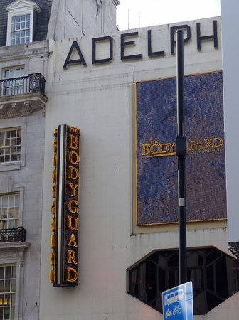 Adelphi Theatre house in West End
