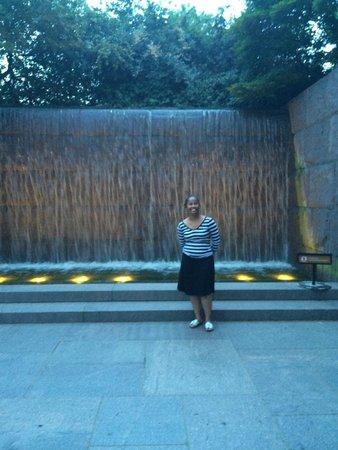 Franklin Delano Roosevelt Memorial : Moving Forward