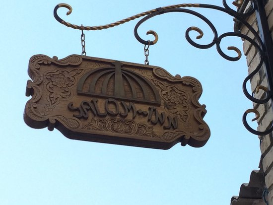 Salom Inn: Look for the sign down a small street off the canal at the main square