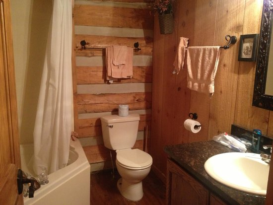 Silver Dollar City's Wilderness: Bathroom