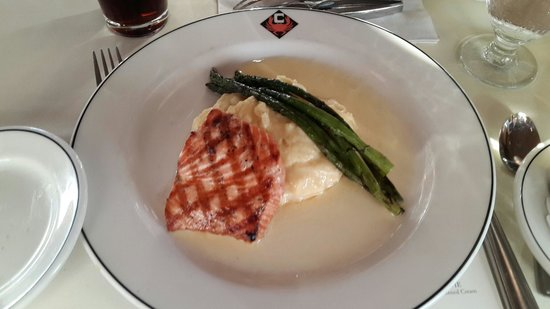 Chandler's Crabhouse: Not to be missed salmon steak
