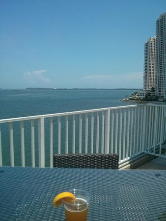 InterContinental Miami: Nice view from the Bluewater Cafe