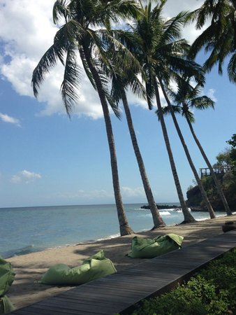 The Chandi Boutique Resort & Spa: View from the sunlounger