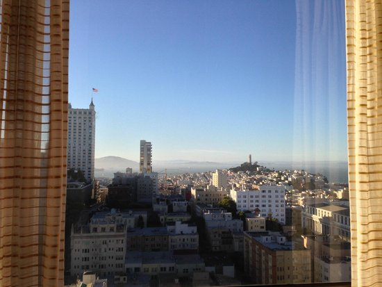 San Francisco Marriott Union Square : Bay view