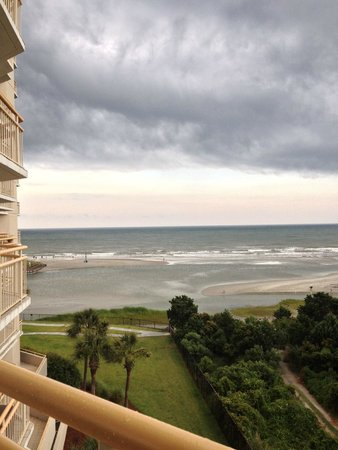 Ocean Creek Resort: view from balcony