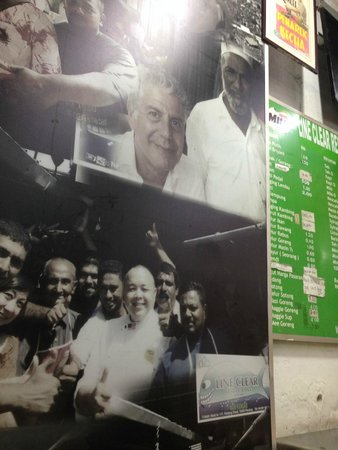 Nasi Kandar Line Clear: Anthony Bourdain was here before!