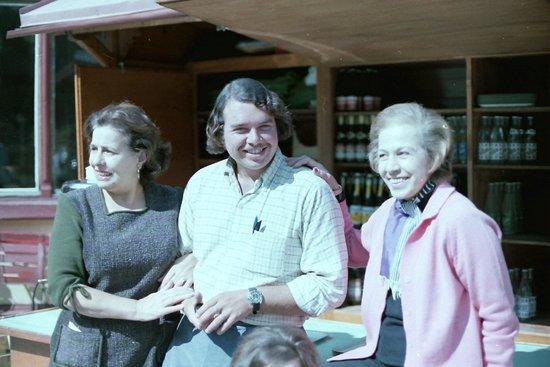 Rhone glacier: My little kiyosk for the summer '71