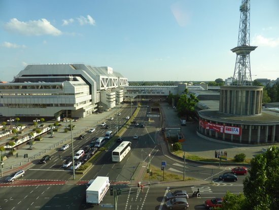Ibis Berlin Messe : View from hotel