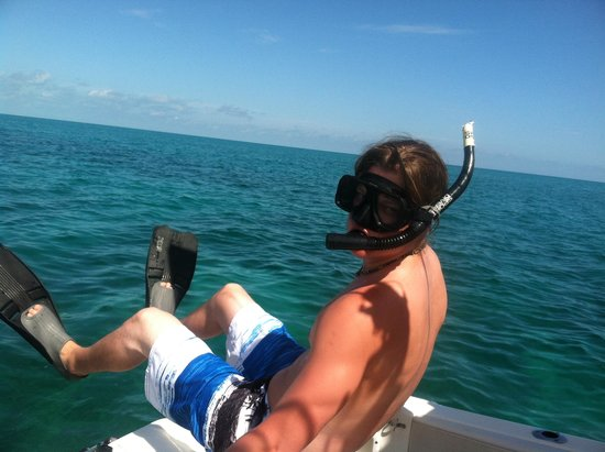 Easy Day Charters: Snorkeling was THE adventure!