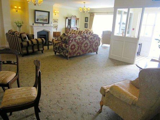 Heaton's Guesthouse: Lounge area