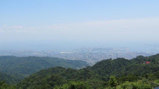 Rokko Garden Terrace: 展望台からの景観