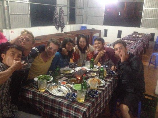 Hobbit Hostel : Best meal!