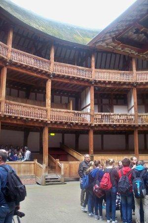 Shakespeare's Globe Theatre: Boxed seats