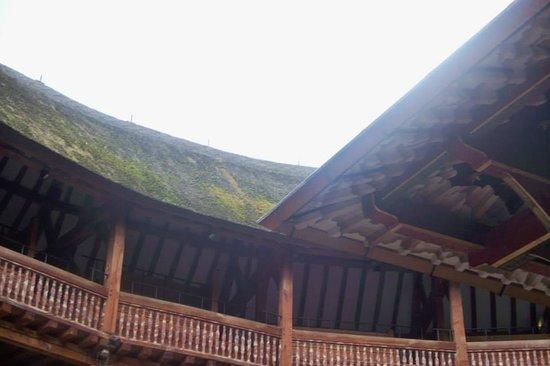 Shakespeare's Globe Theatre: Infamous Roof