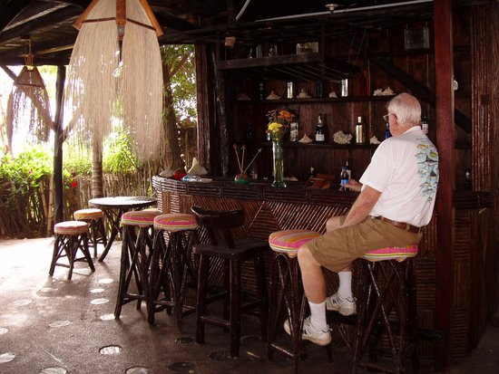 Hosteria  Ecologica El Faro: tom's favorite spot