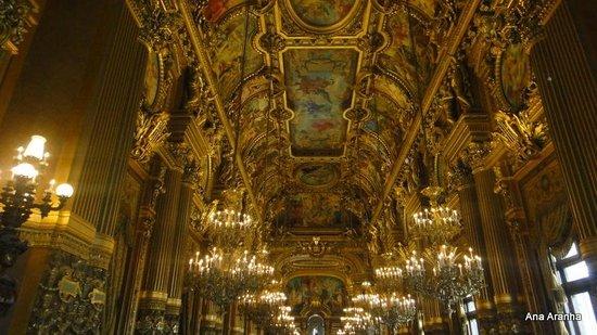 Opéra Garnier : O Grand Foyer, um luxo!