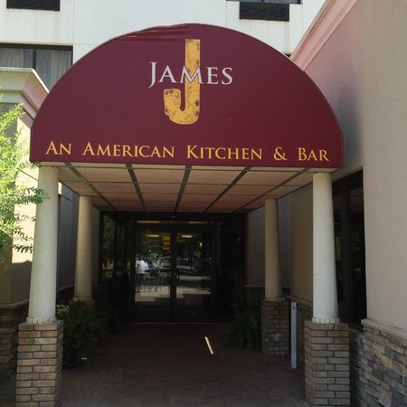 The James: Entrance