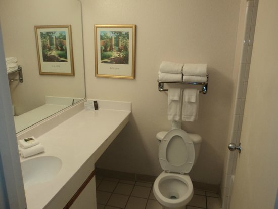 Extended Stay America - Orlando - Southpark - Equity Row : Banheiro Amplo