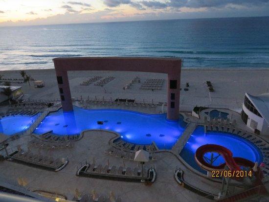 Beach Palace: Vista desde el piso 3