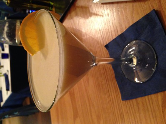 Santorini Estiatorio: Délicieux cocktail