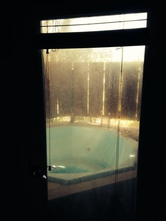 Sycamore Mineral Springs Resort and Spa: Access to jacuzzi