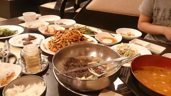 Tops Korean Barbecue restaurant