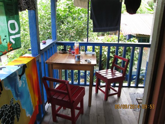 Hotel Los Suenos : my little balcony
