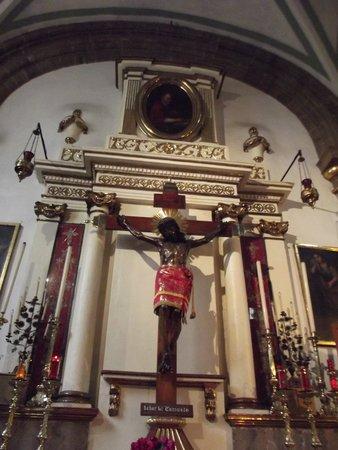 Pinacoteca de la Profesa: el Cristo del Consuelo, muy venerad por los capitalinos