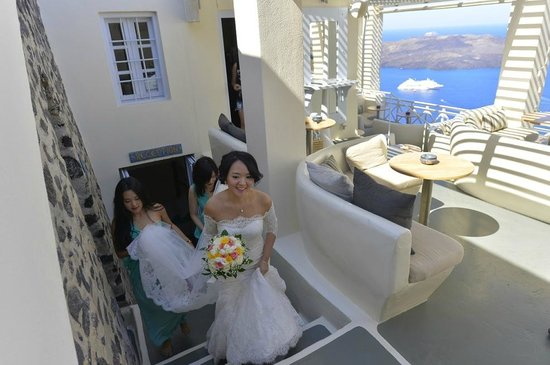 Enigma Apartments & Suites : Bride coming out by Enigma Cafe